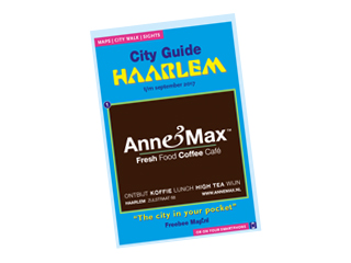 City walk in Haarlem Freebee Map