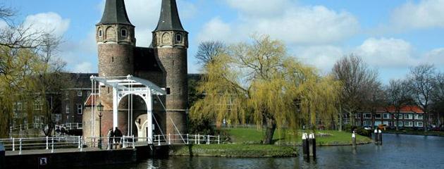 Fahrradroute in Delft - Freebee Map